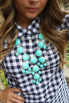 dark blue Bubble necklace - Google Search
