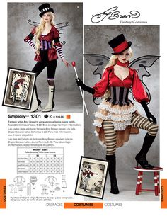 SIMPLICITY PATTERNS - Amy Brown Fairy Art - The Official Gallery