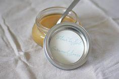 Fleur de Sel caramel sauce #recipe with free printable label