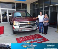 #HappyAnniversary to Marla And Jim  Roncaglione on your 2013 #Chevrolet #Silverado 1500 from John Goertzen at Crossroads Chevrolet Cadillac!