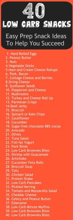40 Low Carb Snacks – Easy Prep Snack Ideas To Help You Succeed #LOW #CARB #SNACKS #fat #fitness #health #fit
