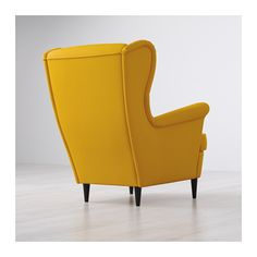 STRANDMON Wing chair, Skiftebo yellow Skiftebo yellow