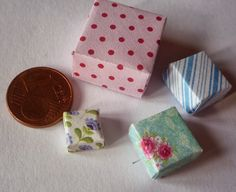 how to: a different method of making mini boxes