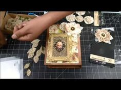 Mixed Media Doll Stamps with Julie Nutting on Live with Prim - YouTube