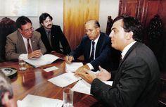 Ministro Eliseu Padilha e Deputado Luciano Pizzatto Fictional Characters, Transportation, Fantasy Characters
