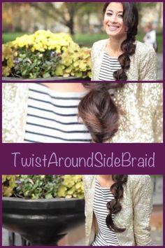 LuxyHair on youtube great hair tutorials