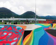 Zuk Club's Swiss Skate Park Perfects the Graffiti Aesthetic