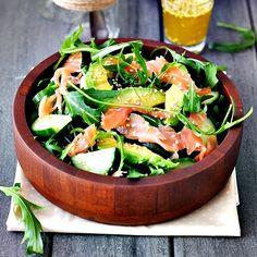 Vet gezonde Salade