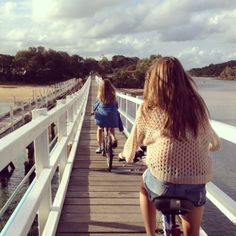 I miss riding a bike in the summer as a kid. A life of no worries.
