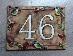 Domovni cislo cislo dve:) Home Decor, Shop Signs, Decoration Home, Room Decor, Interior Decorating