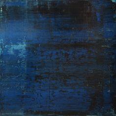 """Koen Lybaert; Oil 2014 Painting """"abstract N° 786 [Atlantic]"""""""