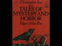 """Christopher Lee reads """"The Tell-Tale Heart"""" by Edgar Allan Poe #Poe #EdgarAllanPoe #Quotes #PoeQuotes"""