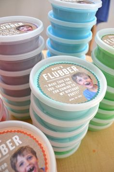 make flubber as a party favor