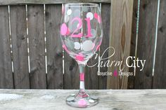 Personalized Birthday/Anniversary Wine Glass 20oz by ahindle78 on Etsy https://www.etsy.com/listing/112549730/personalized-birthdayanniversary-wine