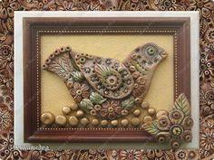 Картина панно рисунок Поделка изделие Лепка Весна Так хочется лепить  Краска Тесто соленое фото 1