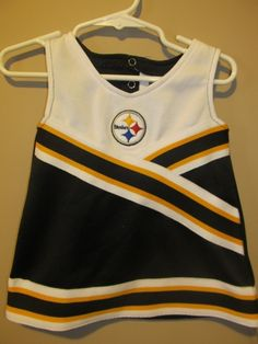 Pittsburgh Steelers Cheerleader Outfit  , Infant 3/6 months
