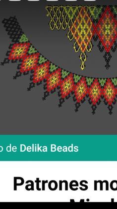 Diy Necklace Patterns, Beaded Jewelry Patterns, Beading Patterns, Beading Projects, Beading Tutorials, Beaded Collar, Bead Jewellery, Simple Necklace, Bead Art