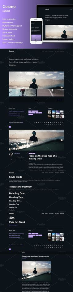 88 Best Ghost Themes images in 2017 | Ghost ghost, Template, Website