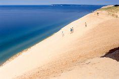 Sleeping Bear Dunes, Northern Michigan (lower peninsula for you non-Michiganders).