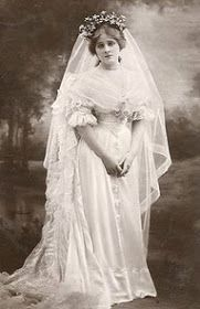 Bride from long ago ...