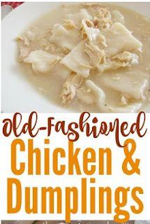 OLD FASHIONED CHICKEN AND DUMPLINGS recipeschandinnerrecipesdinnerideaseasydinnerhealthyrecipescookingtipseasydinnerbreakfastrecipesbreakfastideascakerecipesbreadrecipes. Meat Recipes For Dinner, Supper Recipes, Bread Recipes, Chicken Recipes, Chicken Ideas, Dumpling Dough, Keto Cake, Dessert Bread, Chicken And Dumplings