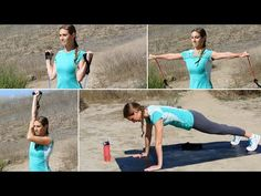 25 Min UPPER BODY RESISTANCE BAND WORKOUT! Truthful Fitness with Elizabeth Panos - YouTube