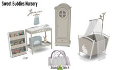 Sims 4 CC's - The Best: Sweet Buddies Nursery by Around the Sims 4
