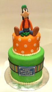 Goofy Cake - I must have this for alexs Birthday...