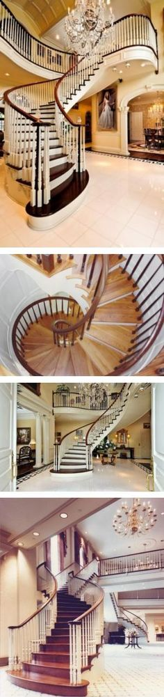 StaircasesI want this in my next house!  LOL