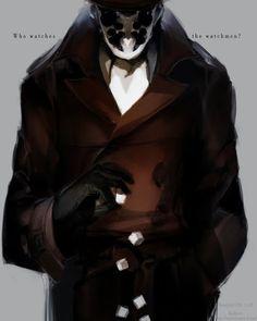 Rorschach - Geek Art - Watchmen