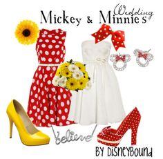 Mickey and Minnie Wedding Version