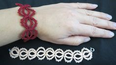 This is a tutorial on how to make a Needle tatting bracelet. Needle tatting Necklace https://youtu.be/KzrviQfvYqc