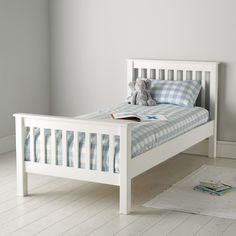 Classic Single Bed | The White Company UK