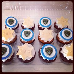 CHP cupcakes for my man