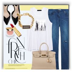 Something Casual.. by monmondefou on Polyvore featuring moda, Zara, Hermès and Isaac Mizrahi