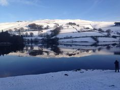 """@metoffice stunning snow at Lady Bower @uknationalparks ⛄️❄️"""