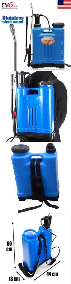 Garden Sprayers 178984: 5.3 Gallon Backpack Lawn And Garden Sprayer Fertilizer Pesticide Spray Weeds -> BUY IT NOW ONLY: $45.99 on eBay!