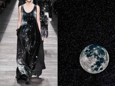 These Amazing Photos Prove How Fashion And Nature Are Interconnected Fendi Fall 2014 RTW and The Moon.Images Sourced From Liliya Hudyakova