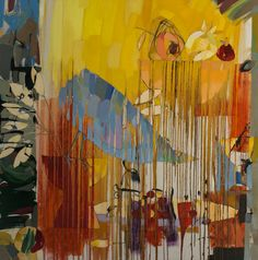 "Saatchi Online Artist Vadim Puyandaev; Painting, ""WONDERING BIRD "" #art"