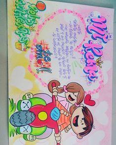 #carteldecumple Anniversary Decorations, Birthday Decorations, Ideas Para Fiestas, Boyfriend Birthday, Digital Stamps, Creative Cards, Boyfriend Gifts, Kids Learning, Pixel Art
