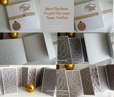 Flip-Book Tutorial from Din A 4 sheet of cardstock