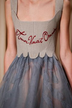 iloverunways:Love conquers all @Spring 2015 CoutureValentino