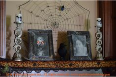 Easy and Inexpensive Ideas for Halloween Decor with Totally Ghoul from Kmart   PartyBluPrints.com