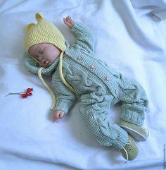 Купить Комбинезон + шапочка + пинетки Сладенький - комбинезон, комбинезон детский, комбинезон для малыша