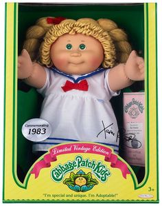 Adopt a Cabbage Patch Kid! One of the most coveted toys of the eighties.