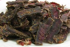 Beef Biltong - Biltong - Original Beef Biltong the Swaziland version of beef jerky