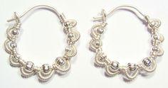 wire jewelry earrings