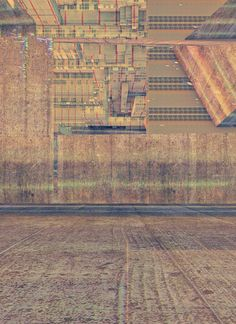 Structures 4 by Atelier Olschinsky  Another set of illustration work by an artist who successfully adopts an abstract realism approach. In this collection, familiar urban motifs become recursive fractal compositions with a surreal structural effect.