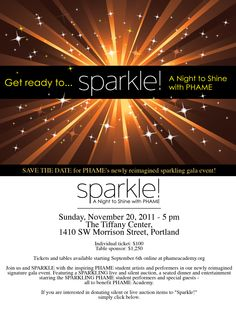 Get ready to sparkle! A Night to Shine for Roy Cloud Gala Themes, Event Themes, Event Ideas, Theme Ideas, Party Themes, Fundraiser Themes, Fundraising Events, Gala Invitation, Invitations