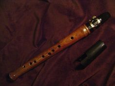 Heritage Music Walnut Pocket Clarinet Mini Sax Keyless Renaissance Chalumeau